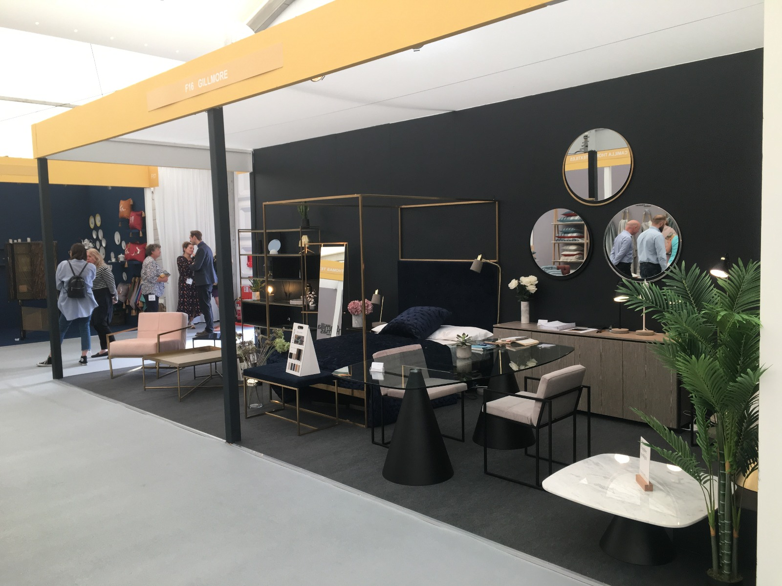 Gillmore Stand F16 - Decorex International 2018, London