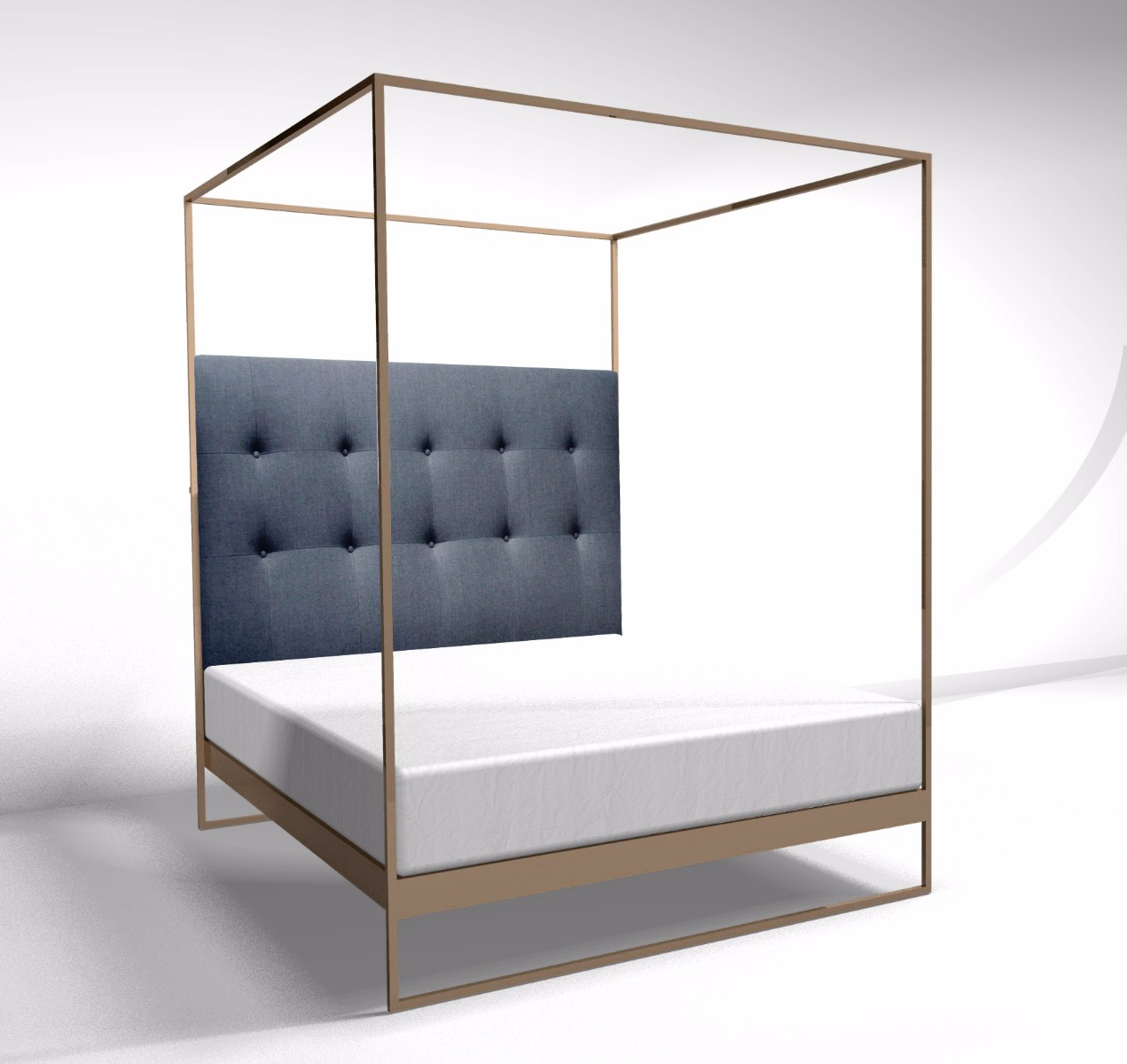 Frederico bed by Gillmore